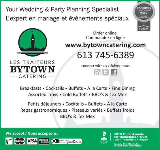 Ads Bytown Catering