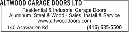 Ads Altwood Garage Doors Ltd