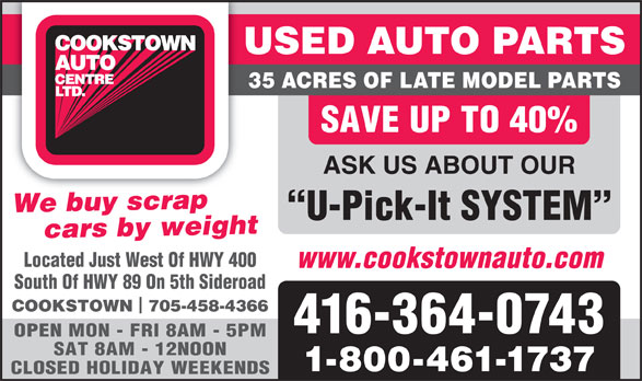 Ads Cookstown Auto Centre Ltd