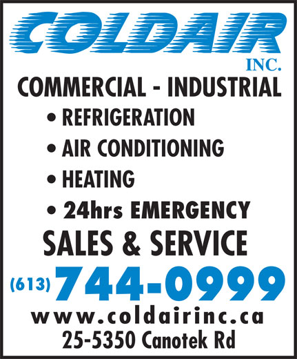 Ads Coldair Inc