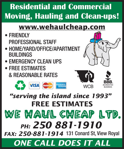 Ads We Haul Cheap Ltd