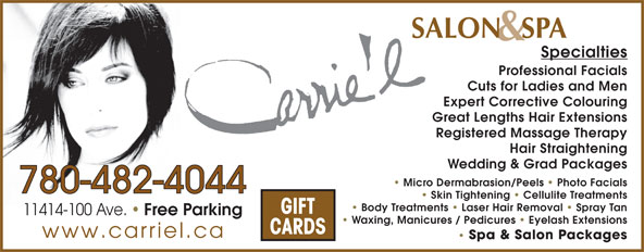 Ads Carrie'l Salon & Spa