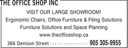 Ads The Office Shop Inc