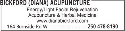 Ads Bickford (Diana) Acupuncture