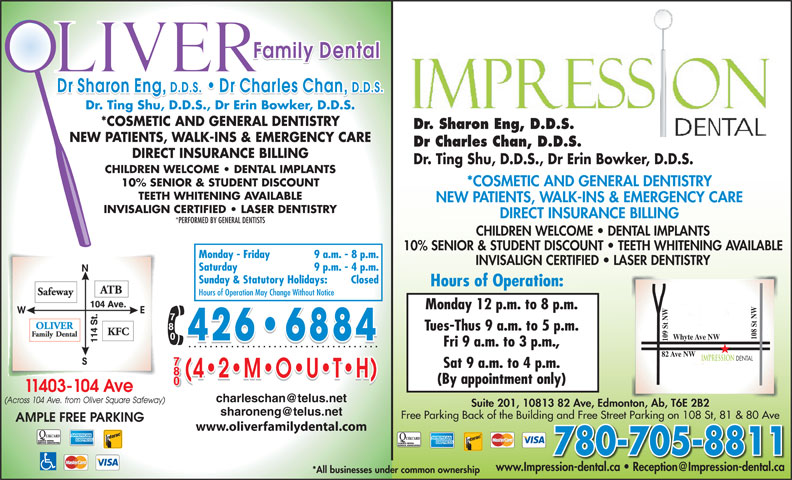Ads Oliver Family Dental