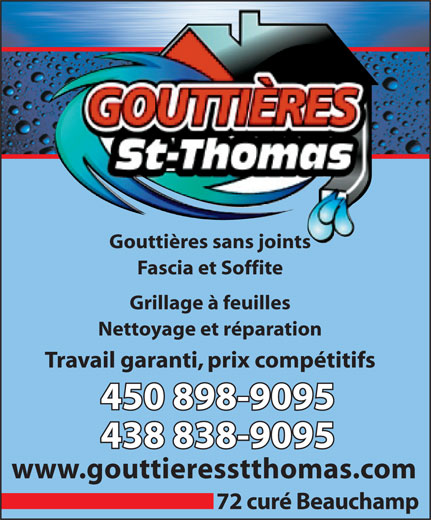 Ads Gouttieres St-Thomas