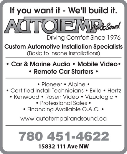 Ads Autotemp Air & Sound