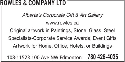 Ads Rowles & Company Ltd