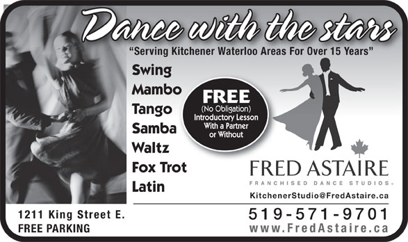 Ads Fred Astaire Dance Studio