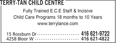 Ads Terry-Tan Child Centre