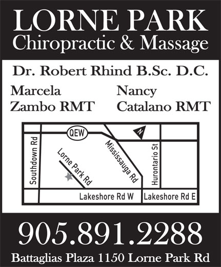 Ads Lorne Park Chiropractic &amp; Health Center