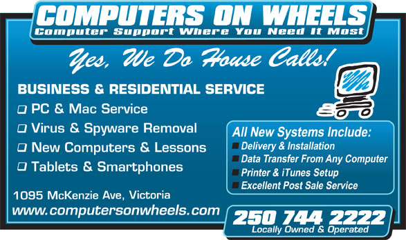 Ads Computers On Wheels Consulting Inc