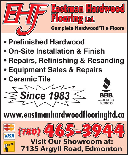 Ads Eastman Hardwood Flooring Ltd