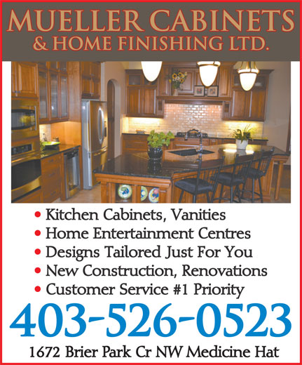Ads Mueller Cabinets &amp; Home Finishing