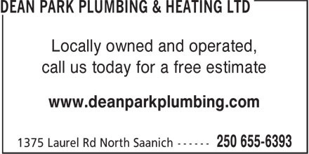 Ads Dean Park Plumbing & Heating Ltd