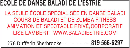 Ads Boutique De Danse Baladi De L&#039;Estrie