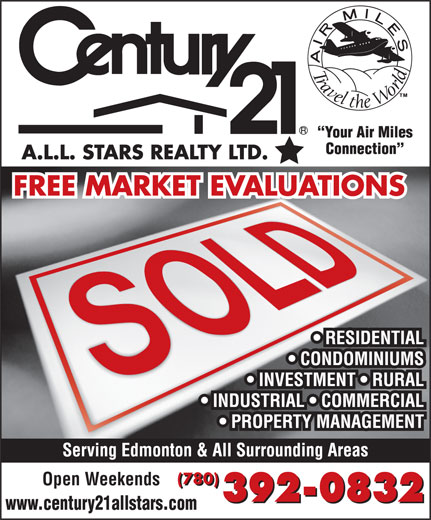Ads Century 21 A L L Stars Realty Ltd