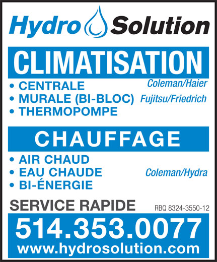 Ads Hydrosolution Inc