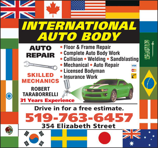 Ads International Auto Body Floor &amp; Frame Repair
