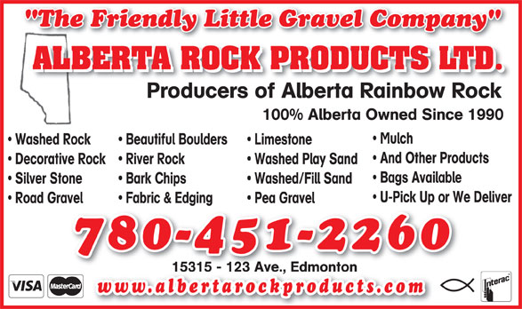 Ads Alberta Rock Products Ltd