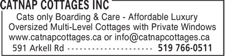 Ads CatNap Cottages Inc
