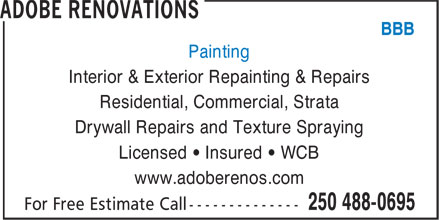 Ads Adobe Renovations