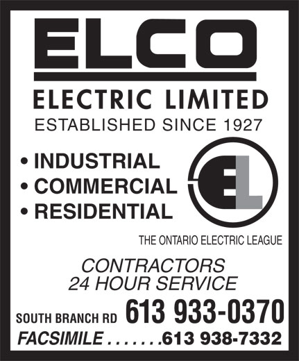 Ads Elco Electric Ltd