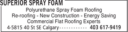 Ads Superior Spray Foam