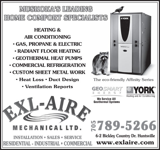 Ads Exl-Aire Mechanical Ltd