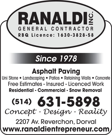 Ads Ranaldi Inc