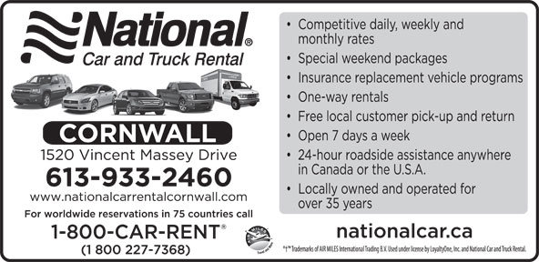 Ads National Car & Truck Rental