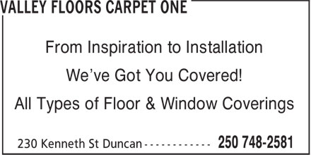 Ads Valley Floors Carpet One