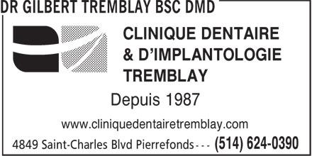 Ads Clinique Dentaire et d'implantologie Tremblay