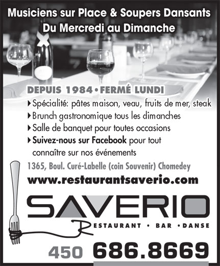 Ads Restaurant Saverio