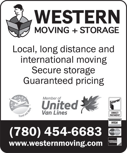 Ads Western Moving &amp; Storage-Member Of United Van Lines