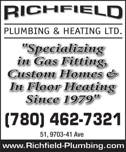 Ads Richfield Plumbing & Heating Ltd