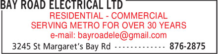 Ads Bay Road Electrical Ltd