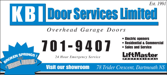 Ads KBI Door Services Ltd