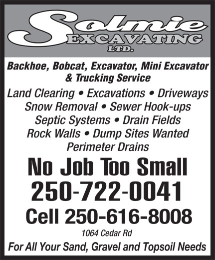 Ads Solmie Excavating Ltd