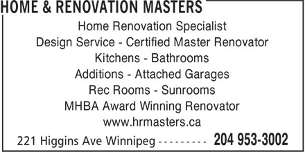 Ads Home & Renovation Masters
