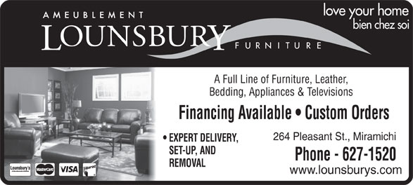 Ads Lounsbury Ashley Furniture Gallery - Facsimile Service