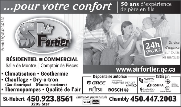 Ads Air Fortier