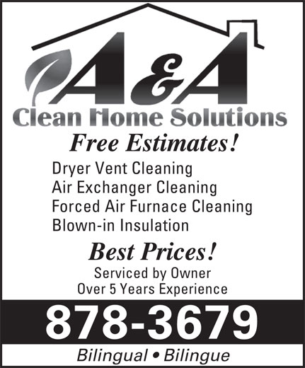 Ads A & A Clean Home Solutions