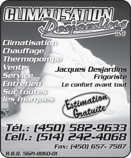 Ads Climatisation Desjardins Inc