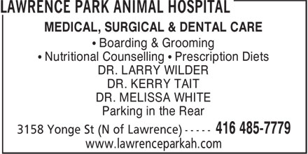 Ads Lawrence Park Animal Hospital