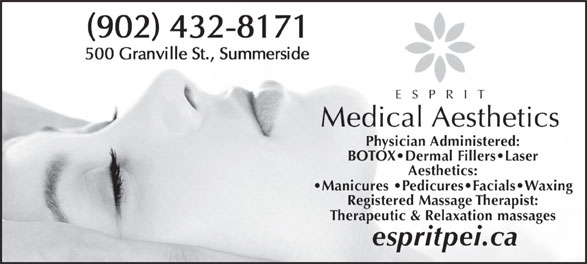Ads Esprit Medical Aesthetics