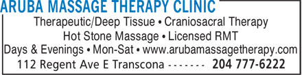 Ads Aruba Massage Therapy Clinic