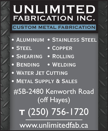 Ads Unlimited Fabrication Inc