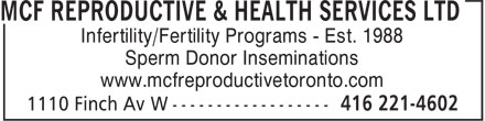 Ads Mcf Reproductive & Health