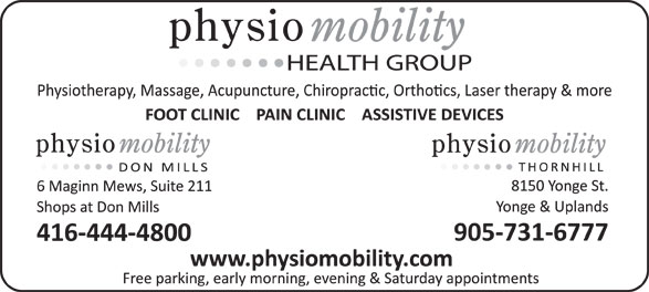 Ads Physiotherapy At Don Mills